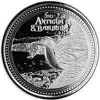 Anguillen : 2 Dollar Fregattvogel  1 oz  2021 Stgl.