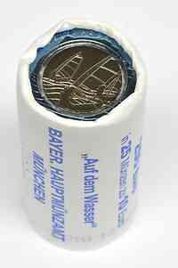 Deutschland : 10 Euro Originalrolle 25x10 Euro = 250 Euro Auf dem Wasser  2021 bfr
