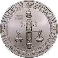 Ungarn : 2000 Forint 150 Jahre Staatsanwaltschaft CuNi  2021 Stgl.