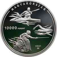 Ungarn : 10000 Forint Olympia Tokyo  SiPP  2021 PP