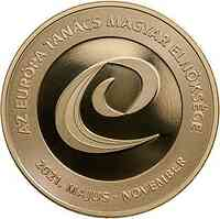 Ungarn : 2000 Forint EU-Präsidentschaft Mai-Nov  CN PL  2021 PP