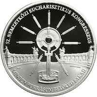 Ungarn : 10000 Forint 52. int. Eucharistischer Kongress SiPP 2021 PP