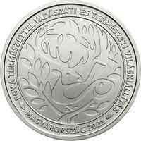 Ungarn : 2000 Forint One With Nature - Welt der Jagd u Natur  2021 Stgl.