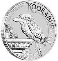 Australien : 1 Dollar Kookaburra 1 Oz - Silber  2022 Stgl.