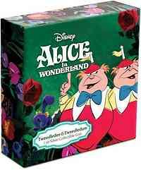 Niue : 2 Dollar Alice im Wunderland 4 - Tweedle Dee-Tweedle Dum  2021 PP