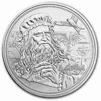 Niue : 2 Dollar Leonardo Da Vinci - Ikonen der Inspiration #2  2021 Stgl.