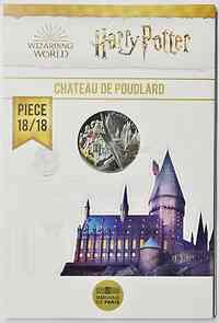 Frankreich : 10 Euro Hogwarts 18/18  2021 Stgl.