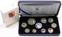Finnland : 8,88 Euro original Kursmünzensatz der finnischen Münze (mit Silbertoken) in Originaletui mit Zertifikat  2005 PP