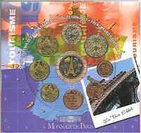 Frankreich : 3,88 Euro original KMS Frankreich Tourismus / Eiffelturm  2003 Stgl. KMS Frankreich 2003; Eiffelturm
