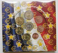 Frankreich : 3,88 Euro original Kursmünzensatz der französischen Münze  2003 Stgl. KMS Frankreich 2003