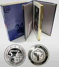 Frankreich : 8,88 Euro original Kursmünzensatz der französischen Münze mit 5 Euro Gedenkmünze 2004 PP