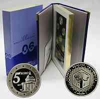 Frankreich : 8,88 Euro original Kursmünzensatz der französischen Münze mit 5 Euro Gedenkmünze 2006 PP