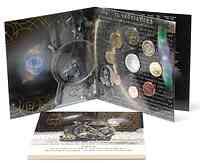 Griechenland : 13,88 Euro original Kursmünzensatz der griechischen Münze in bankfrischer Qualität + 10 Euro Astronomie in polierter Platte  2009 PP