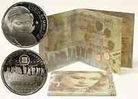 Griechenland : 13,88 Euro original Kursmünzensatz der griechischen Münze in bankfrischer Qualität + 10 Euro Sofia Vempo in polierter Platte  2010 PP