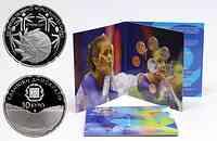 Griechenland : 13,88 Euro original Kursmünzensatz der griechischen Münze in bankfrischer Qualität + 10 Euro Kallimarmaro Stadion in polierter Platte  2011 PP