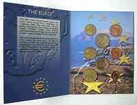 Irland : 3,88 Euro original Kursmünzensatz aus Irland 2002 Stgl.