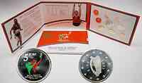Irland : 8,88 Euro Special Olympics-Set mit 5 Euro Gedenkmünze 2003 Stgl.