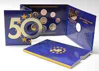 Irland : 5,88 Euro original Kursmünzensatz aus Irland inkl. 2 Euro Gedenkmünze Römische Verträge  2007 Stgl.