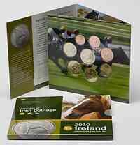 Irland 3,88 Euro original Kursmünzensatz aus Irland 2010 Stgl. KMS
