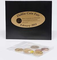 Irland 3,88 Euro original Coin Fair Set - Dublin 2011