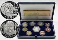 Italien : 8,88 Euro original Kursmünzensatz aus Italien mit zusätzlicher 5 Euro Gedenkmünze inkl. Originalkassette und Zertifikat 2005 PP