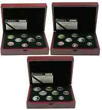 Luxemburg : 13,64 Euro Set aus drei original Kursmünzensätzen aus Luxemburg der Jahre 2002, 2003 und 2004 in Originalkassette, der Jahrgang 2004 enthält zusätzlich die 2 Euro Gedenkmünze, Auflage 1500 Ex. 2004 PP