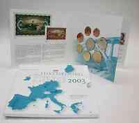 Luxemburg : 3,88 Euro original Kursmünzensatz aus Luxemburg  2003 bfr KMS Luxemburg 2003