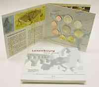 Luxemburg : 5,88 Euro original Kursmünzensatz aus Luxemburg mit 2 Euro Gedenkmünze 2005 Stgl.