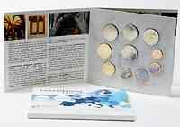 Luxemburg : 7,88 Euro original Kursmünzensatz aus Luxemburg mit 2 x 2 Euro Gedenkmünzen (Römische Verträge und Palast)  2007 Stgl.