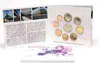 Luxemburg : 5,88 Euro original Kursmünzensatz aus Luxemburg mit zusätzlicher 2 Euro Gedenkmünze Jean  2011 Stgl.