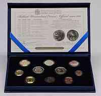 Malta : 5,88 Euro KMS Malta inkl. 2 Euro Gedenkmünze  2011 Stgl.