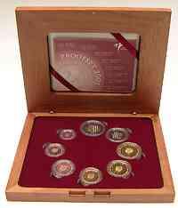 Niederlande : 3,88 Euro original Kursmünzensatz der niederländischen Münze  2005 PP KMS Niederlande 2005 PP