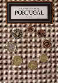 Portugal : 3,88 Euro original Kursmünzensatz aus Portugal FDC  2008 Stgl. FDC KMS Portugal 2008