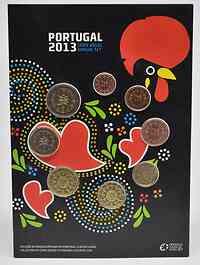 Portugal : 3,88 Euro KMS Portugal FDC  2013 vz/Stgl.