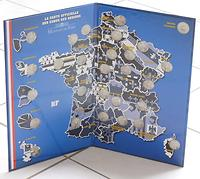 Frankreich :   Sammelmappe für die Regionen-Serie  2010 Stgl.