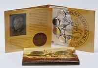 Slowakei : 3,88 Euro original KMS der Slowakei 40. Jahrestag der Slowakischen Numismatischen Gesellschaft 2010 Stgl.