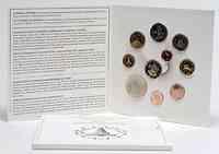 Slowenien : 8,88 Euro original Kursmünzensatz der slowenischen Münze mit Gedenkmünze 3 Euro Unabhängikgkeit und 2 Euro Rozmann  2011 PP