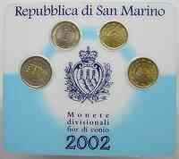 San Marino : 3,70 Euro sogenanntes Mini Kit  2002 Stgl. KMS San Marino 2002 Mini Kit