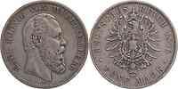 Deutschland : 5 Mark Karl  1876 ss.