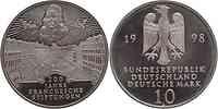 Deutschland : 10 DM 300. Jahrestag d. Frankeschen Stiftung 1998 vz/Stgl.