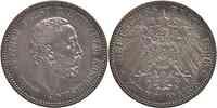 Deutschland : 2 Mark Karl Günther  1896 ss/vz.