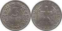 Deutschland : 3 Reichsmark   1931 vz/Stgl.