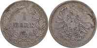 Deutschland : 1 Mark   1882 s/ss.