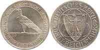 Deutschland : 3 Reichsmark Rheinlandräumung  1930 vz.