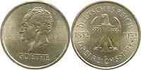 Deutschland : 3 Reichsmark Goethe  1932 vz+