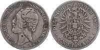 Deutschland : 2 Mark Friedrich Wilhelm  1877 s.