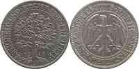 Deutschland : 5 Reichsmark Eichbaum  1928 vz.