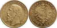 Deutschland : 10 Mark Friedrich  1876 ss.