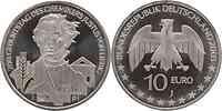 Deutschland : 10 Euro 200. Geburtstag des Chemikers Justus von Liebig  2003 bfr