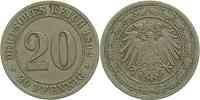 Deutschland : 20 Pfennig   1892 ss.